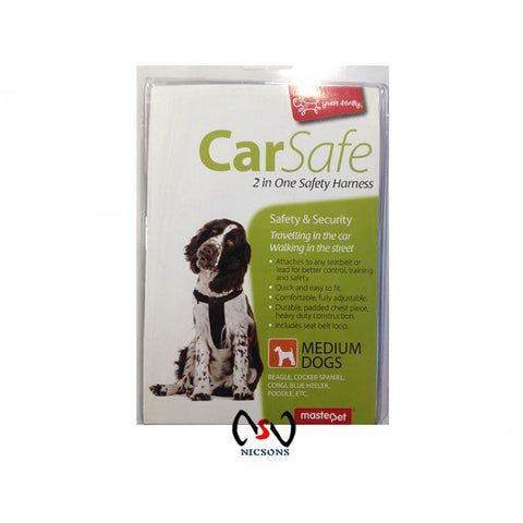 Yours Droolly Car Safe Harness ~ Medium