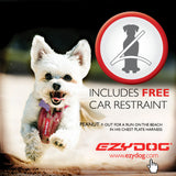 EZYDOG - RED Chest Plate Harness