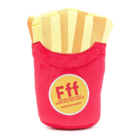 Plush Dog Squeak Toys - French Fries