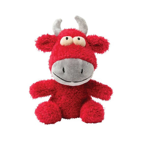 Plush Dog Squeak Toys - Jordan the Bull