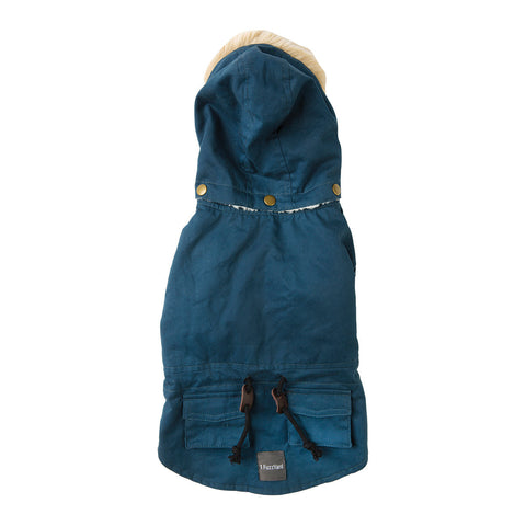 Fuzzyard The Hipster Duffel Jacket - Navy