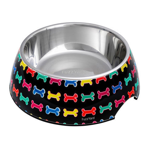 FuzzYard Jelly Bones Easy Feeder Pet Bowl