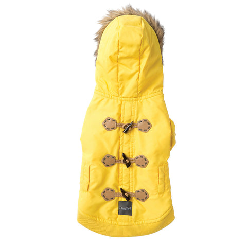 Fuzzyard - The Moscow Duffel Jacket - Yellow