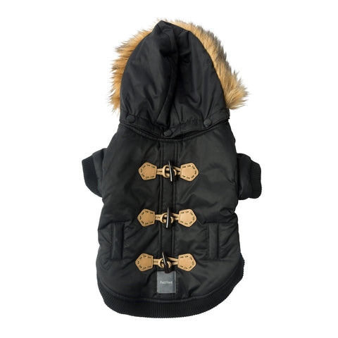 Fuzzyard - The Moscow Duffel Jacket - Black