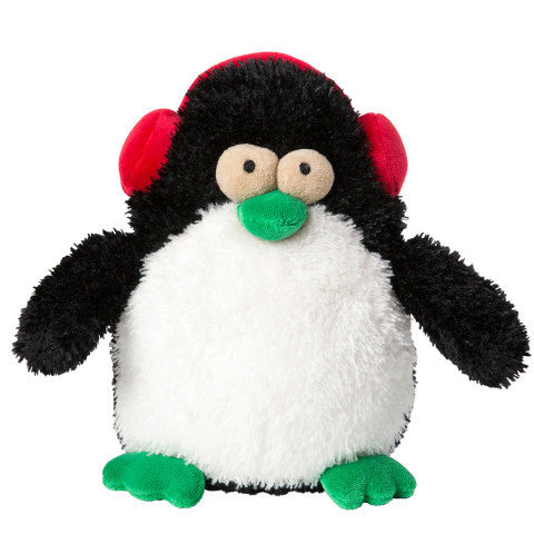 Plush Dog Squeak Toys - Peeko the Christmas Penguin