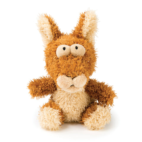 Plush Dog Squeak Toys - Bounce the Kangaroo