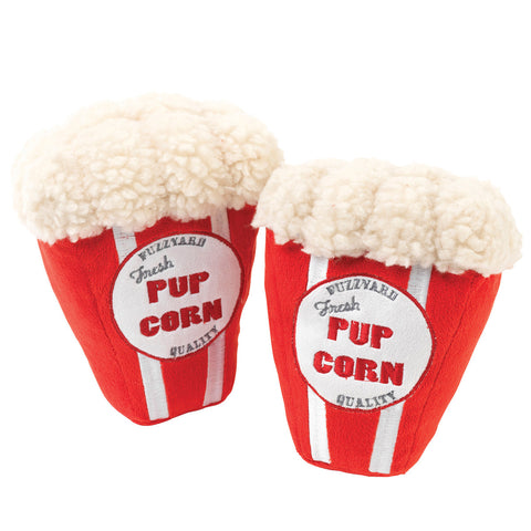 Plush Dog Squeak Toys - Pupcorn