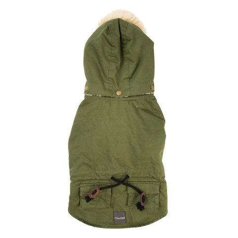 Fuzzyard - The Hipster Duffel Jackets - Army Green