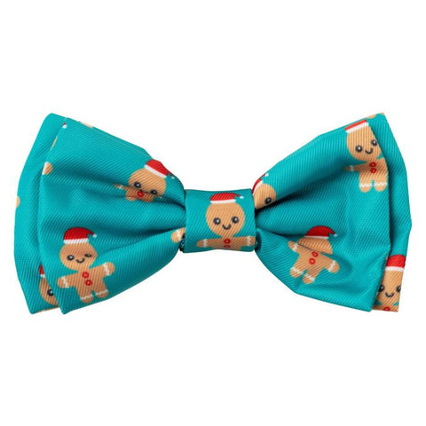 Dog Bowtie - Gingerbread Man