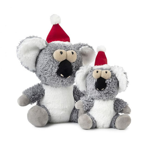 Plush Dog Squeak Toys - Kana the Christmas Koala