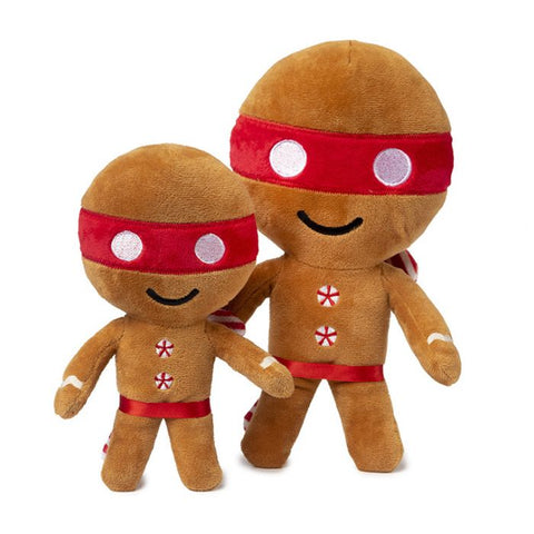 Plush Dog Squeak Toy - Ninjabread Man