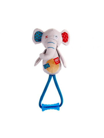 Gigwi Plush Elephant with TPR Johny Stock