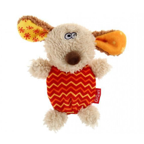 Gigwi Plush Dog Squeaker