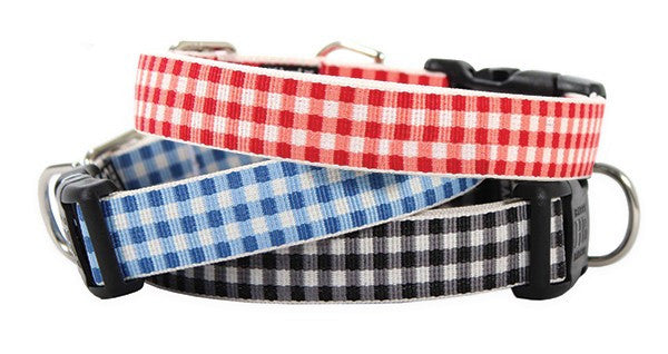 Harry Barker - Gingham Collar – Paws of Fun