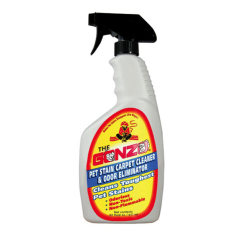 GONZO - Pet Stain Carpet Cleaner and Odor Eliminator