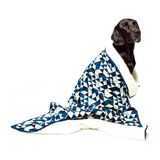Mog & Bone Fleece Blanket - Blue Diamond