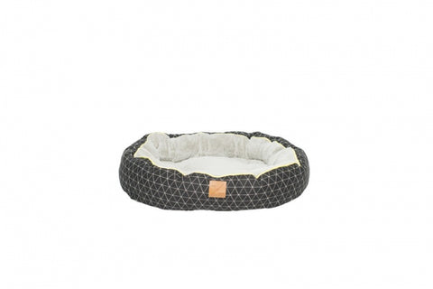 Mog & Bone Circular Reversible Bed - Pitch Triangle