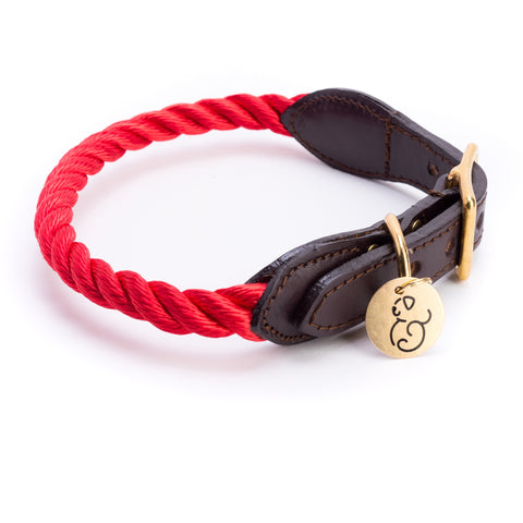 Found My Animal - Dog Collar - Red