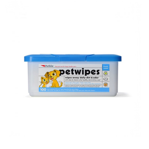 PETKIN Pet Wipes 100pk