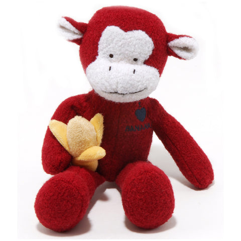 Woolie Dog Squeak Toys - Monkey