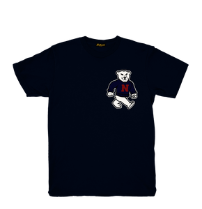 Nanuk tee navy - Northside of the map