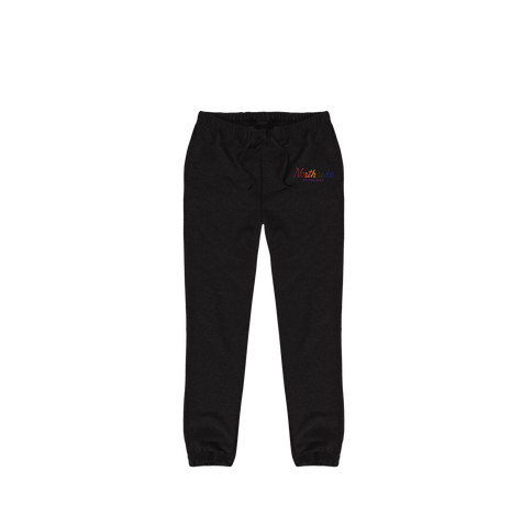 Rainbow Script Sweats - Northside of the map