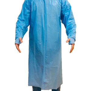 Disposable Isolation Gown - Level 3 AAMI/ANSI PB70 barrier protection level CDC standards