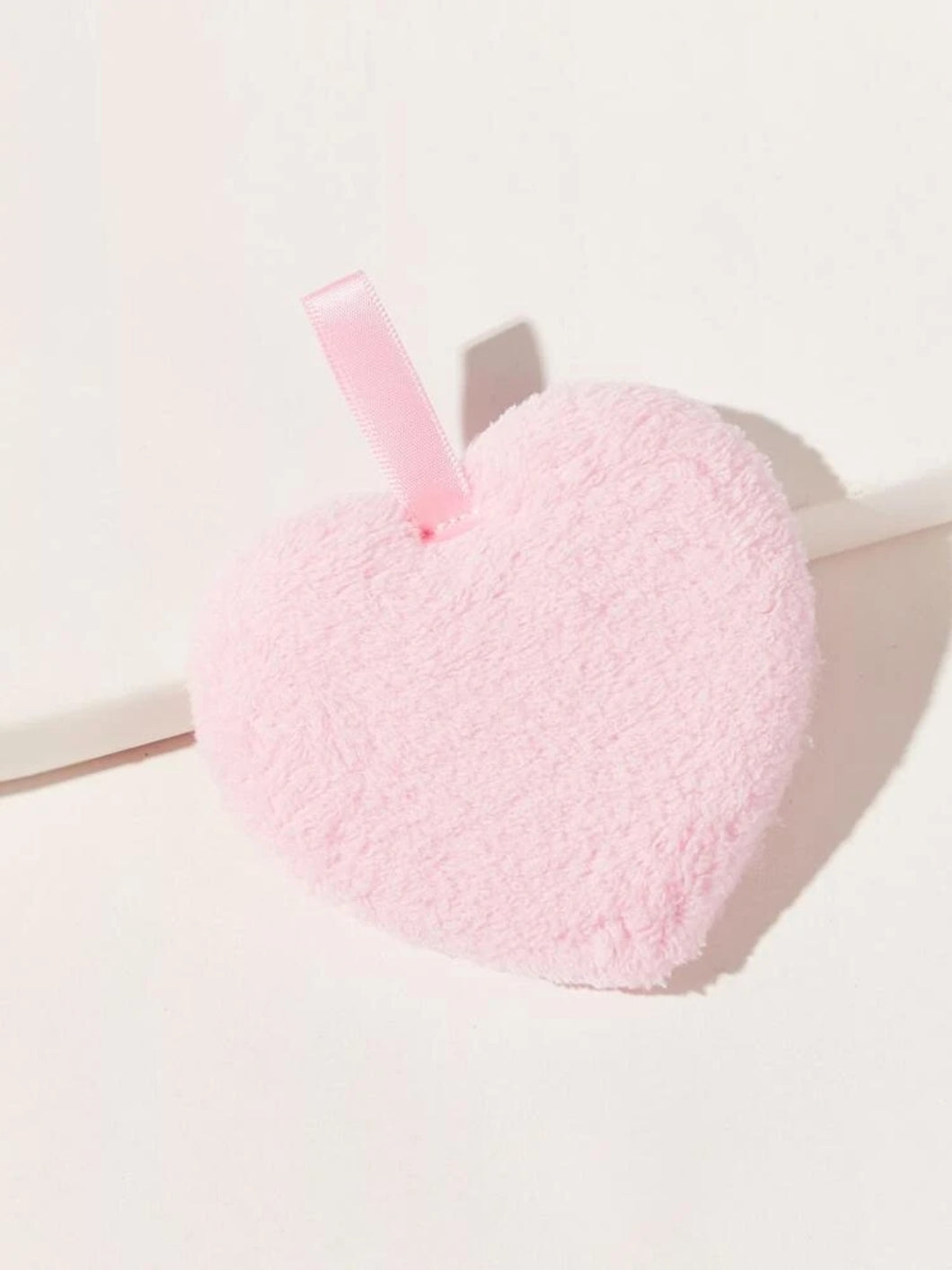 Heart shape puff