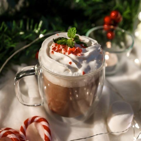 Peppermint Reishi Hot Cacao