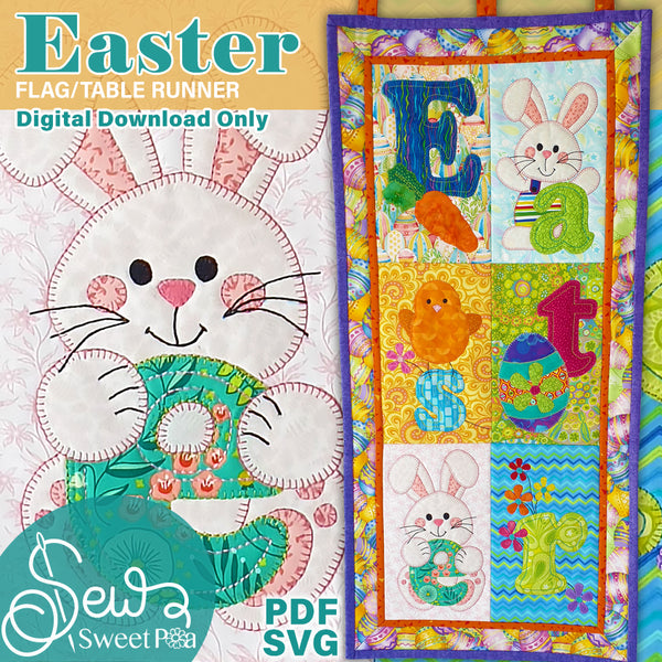 Easter Applique & Flag Pattern