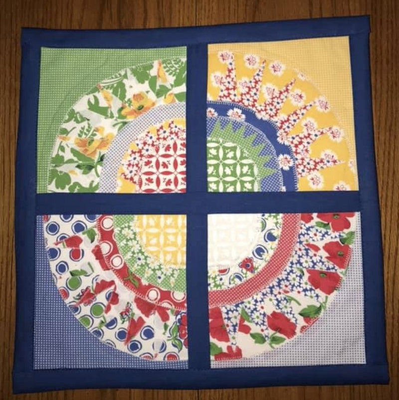 Beauty Blocks Applique and Quilt Pattern - Sew Sweet Pea