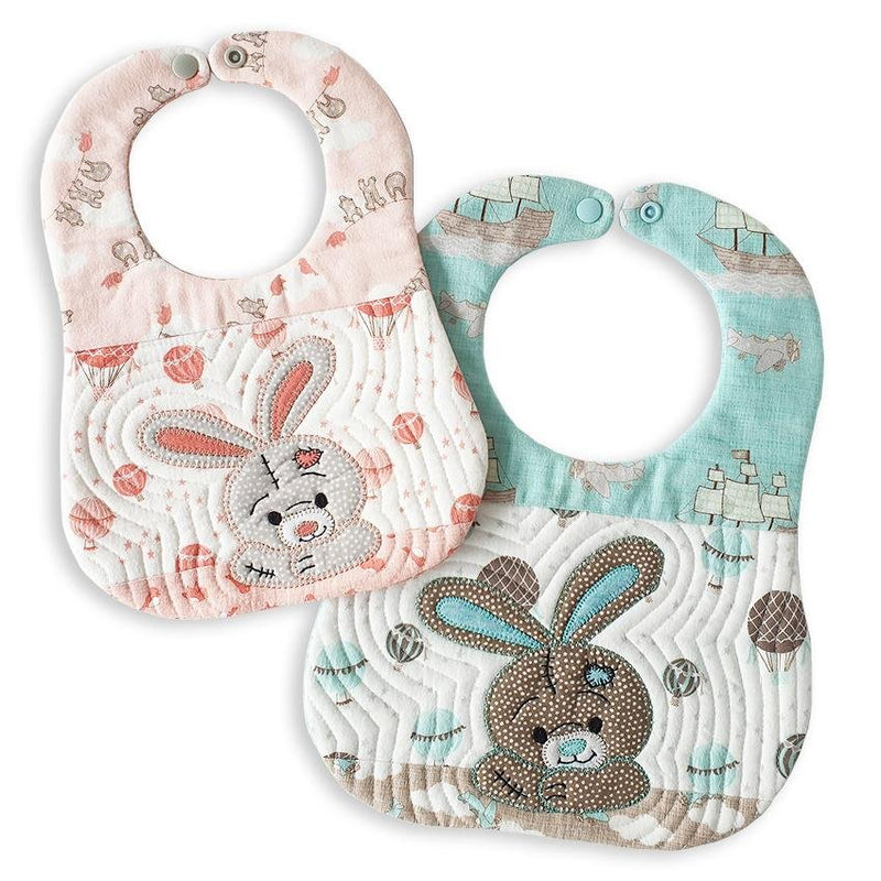 Bunny Bib Pattern and Applique - Sew Sweet Pea