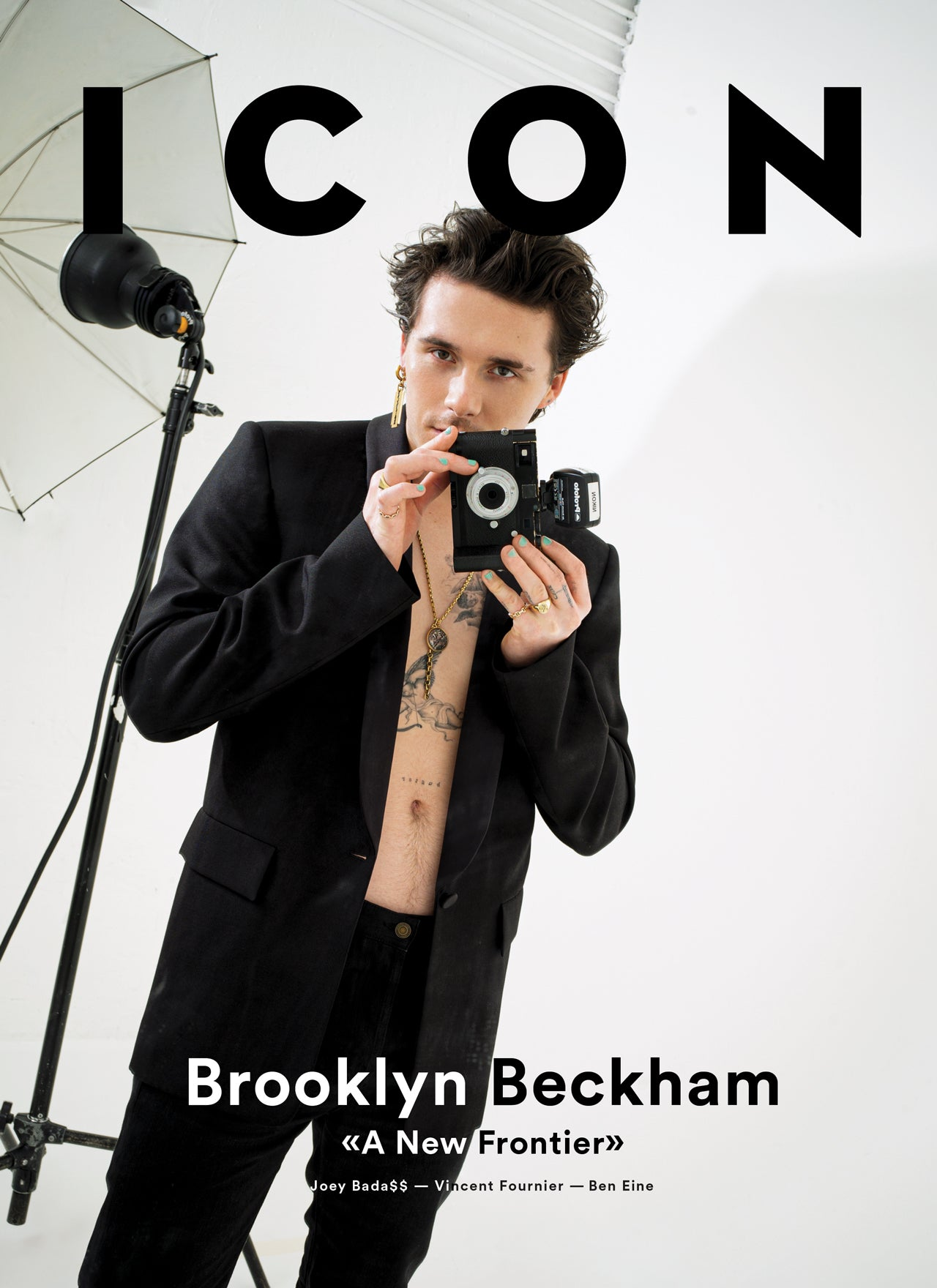 ICON 04 Magazine - A New Frontier - Brooklyn Beckham