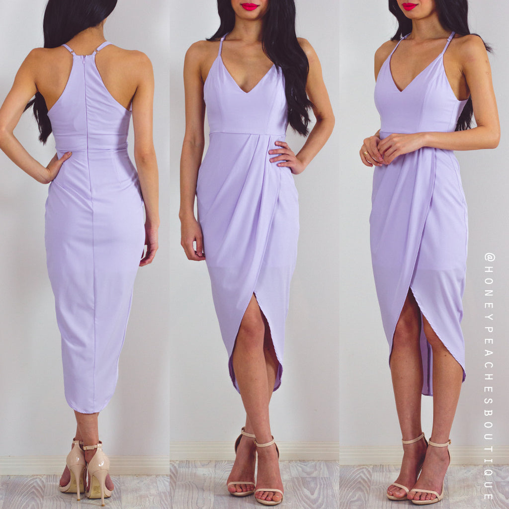 Slow Dancing Dress - Lilac
