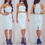 Sweetest Addiction Skirt - White