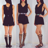 Better Than Revenge Playsuit - Black