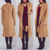 Autumn Leaves Coat - Coffee