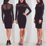 Be Without You Midi Dress - Black