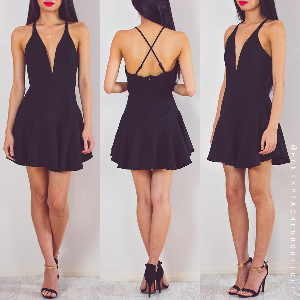 Come Back To Me Dress - Black
