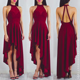 From This Moment Dress - Maroon