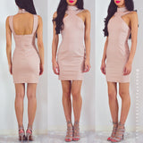 Love The Game Dress - Nude