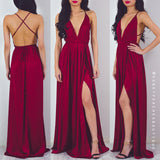 Pre-Order: The Way I Love You Maxi Dress - Maroon