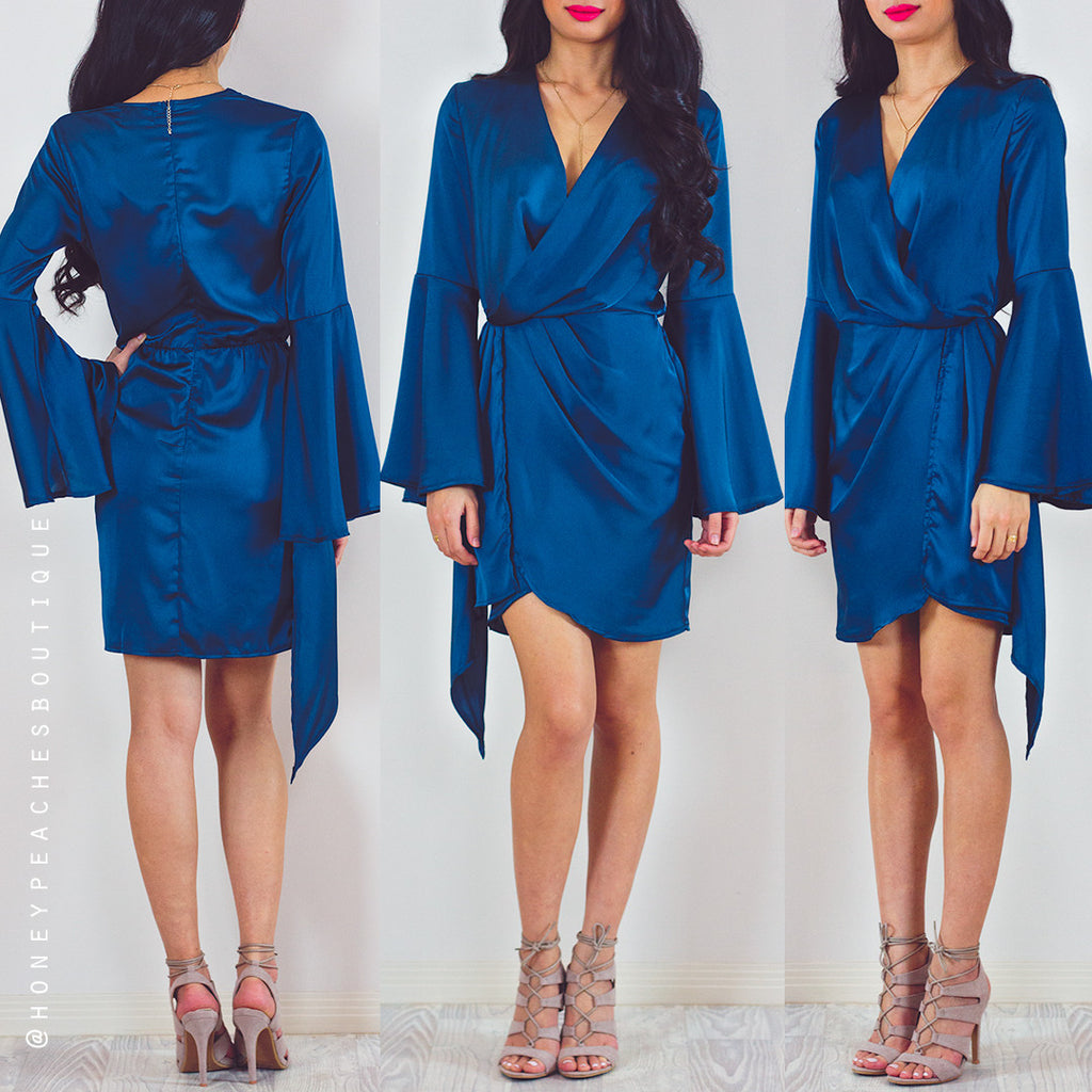 Longing For You Dress - Blue
