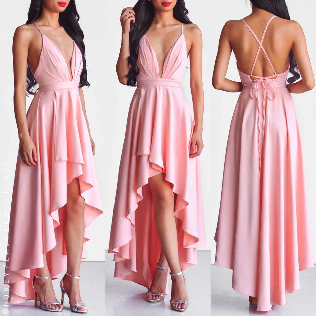 This Love Is Forever Dress - Light Pink