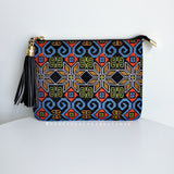Willow Clutch - Multi Print