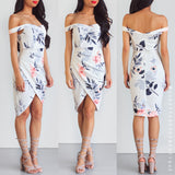 Stand Up For Love Dress - White Floral