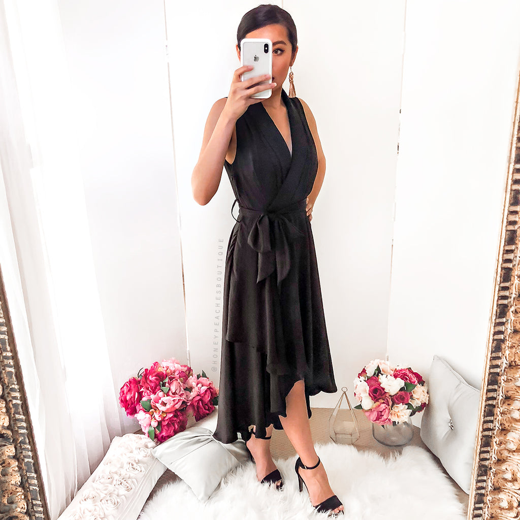 Sway My Way Dress - Black