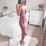 Looking For Love Midi Dress - Dusty Pink