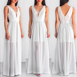 Just For Us Maxi Dress - White