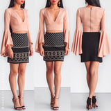 Lush Life Crop Top - Nude Blush